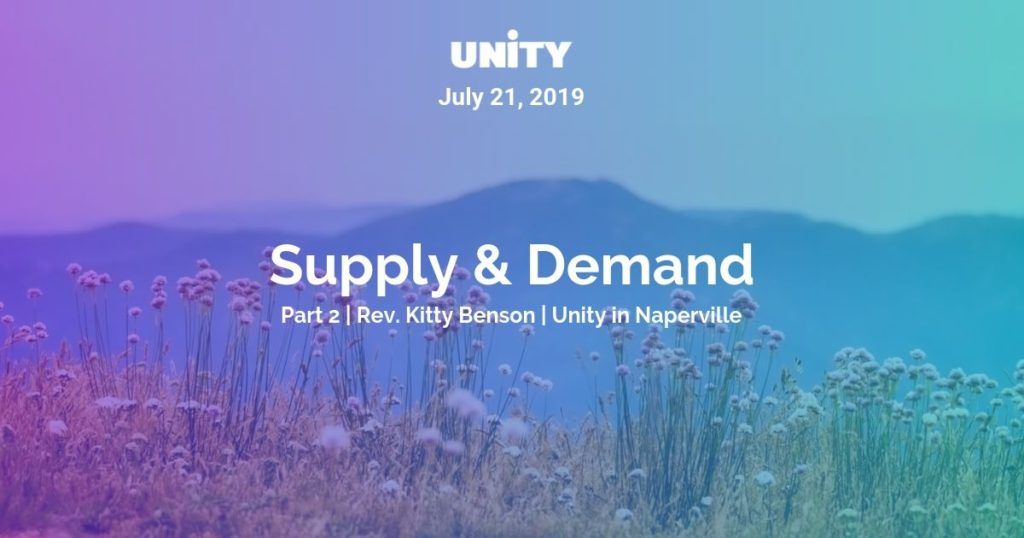 Supply & Demand - Part 2 - Unity In Naperville